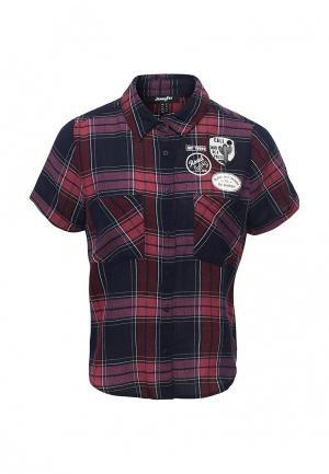 Рубашка Jennyfer. Цвет: бордовый