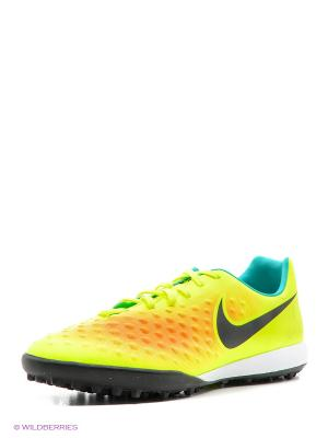 Шиповки MAGISTAX ONDA II TF Nike. Цвет: желтый, черный