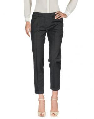 Повседневные брюки FABRIZIO LENZI. Цвет: свинцово-серый