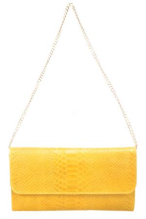 Клатч Giorgio Costa. Цвет: yellow