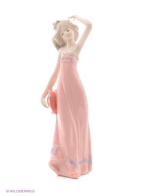 Статуэтка Девушка Русские подарки. Цвет: белый, кремовый