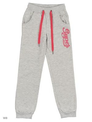 Спортивные брюки Modis. Цвет: серый меланж, розовый