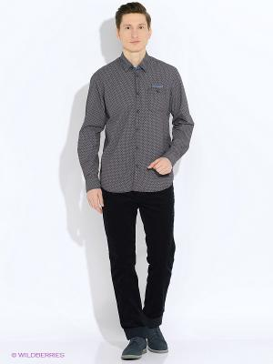 Рубашка LERROS. Цвет: черный