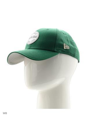 Бейсболка New Era. Цвет: зеленый