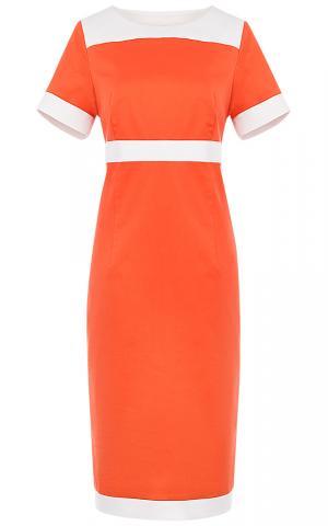 Оранжевое платье Le monique