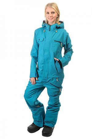 Комбинезон женский  Freedom Suit Ocean Insulated Airblaster. Цвет: голубой