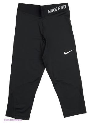 Капри G NP CL CPRI Nike. Цвет: черный