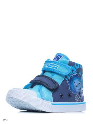 Ботинки Kakadu. Цвет: синий, голубой