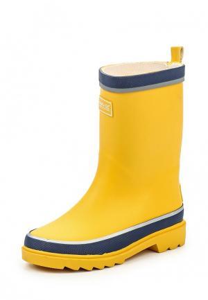 Резиновые сапоги Regatta. Цвет: желтый