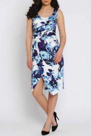 Платье Moda di Chiara. Цвет: white and blue