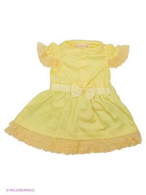 Платье CHOUPETTE. Цвет: желтый