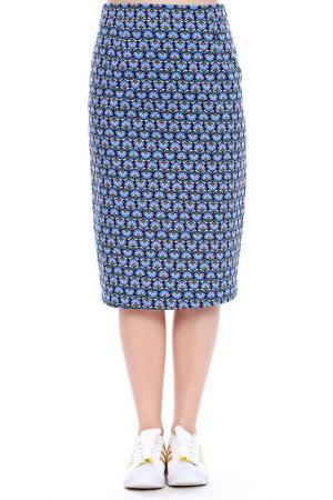 Юбка Emma Monti. Цвет: blue