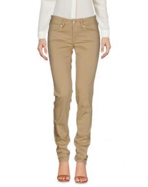 Повседневные брюки JACOB COHЁN. Цвет: песочный