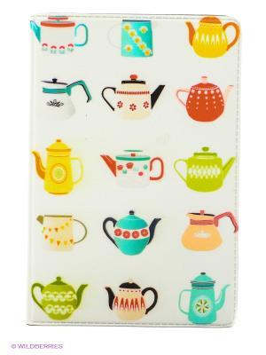 Визитница Заварочные чайники Mitya Veselkov. Цвет: белый, голубой, желтый, красный