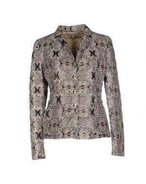 Куртка ANGELO MARANI. Цвет: темно-коричневый