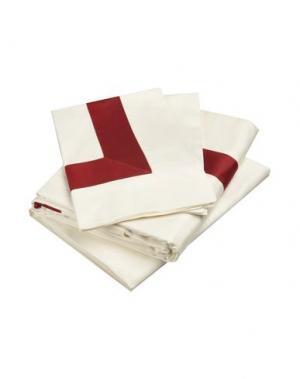 Гарнитура постельного белья FRETTE. Цвет: красно-коричневый