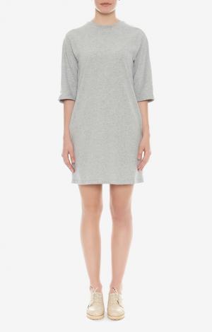 Платье-футболка Серое | форма