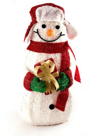 Фигура Снеговик Christmas. Цвет: мультицвет