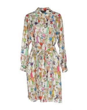 Короткое платье SLY010. Цвет: телесный