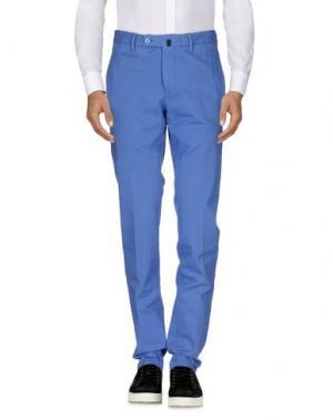Повседневные брюки MILA SCHÖN. Цвет: синий