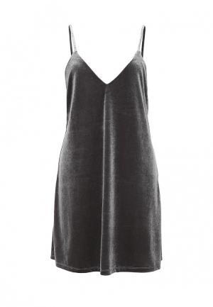 Платье Zeza. Цвет: серый