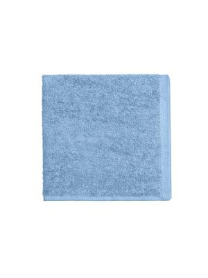 Махровое полотенце-голубой-40х40-100% хлопок, УзТ-МПБ-005-08-06 Aisha. Цвет: голубой