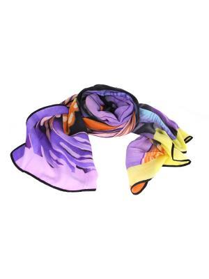 Платок MYLIKE. Цвет: фиолетовый