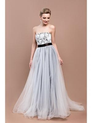 Платье Tavifa wedding fashion. Цвет: темно-коричневый