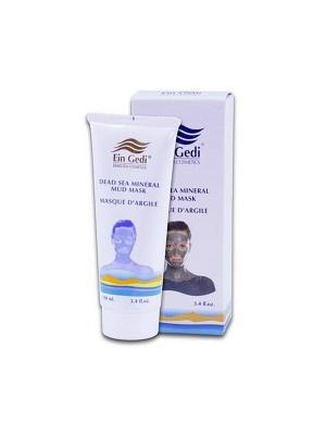 Грязевая маска для лица и шеи 100ml Ein Gedi. Цвет: белый