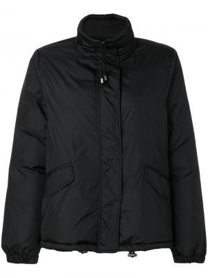 Дутая куртка Cinciallegra Aspesi. Цвет: чёрный