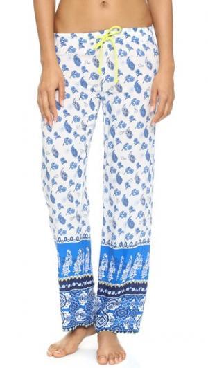 Пижамные брюки  Coastal Blues PJ Salvage. Цвет: золотой