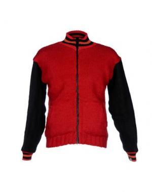 Куртка BSBEE. Цвет: красный