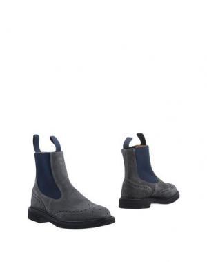 Полусапоги и высокие ботинки TRICKER'S. Цвет: серый