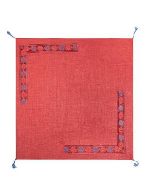 Платок Labbra. Цвет: синий, бордовый, темно-красный