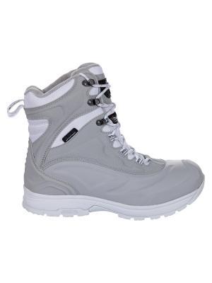 Ботинки Icepeak. Цвет: серый