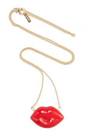 Колье 131829 Nach Jewellery. Цвет: красный