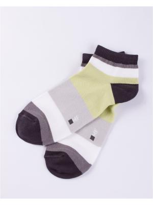 Носки Mark Formelle. Цвет: черный, салатовый, серый меланж, белый