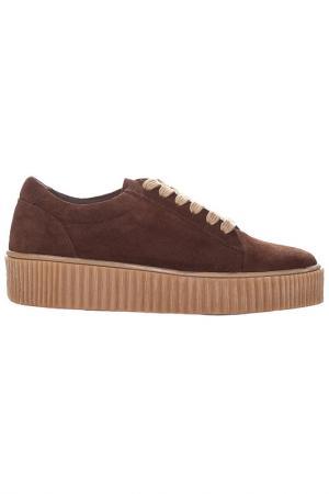 Ботинки MARIA BARCELO. Цвет: коричневый
