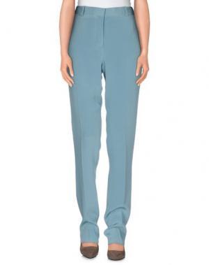 Повседневные брюки THE ROW. Цвет: бирюзовый