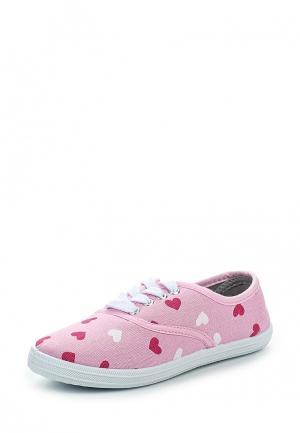 Кеды Modis. Цвет: розовый
