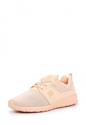 Кроссовки DC Shoes. Цвет: коралловый