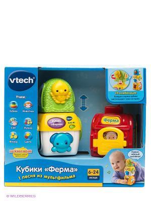 Кубики Ферма Vtech. Цвет: зеленый, красный, желтый