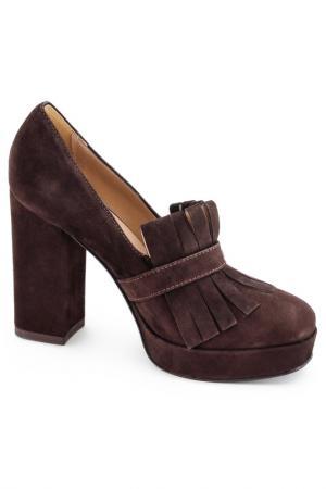 Туфли FORMENTINI. Цвет: кофейный, коричневый