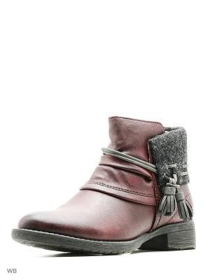 Ботинки Soft Line. Цвет: фиолетовый