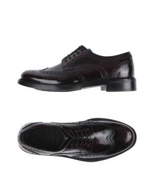Обувь на шнурках FLORSHEIM IMPERIAL. Цвет: баклажанный