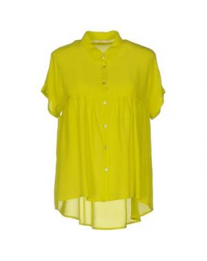 Pубашка NIOI. Цвет: кислотно-зеленый