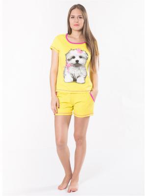 Пижамы Flip. Цвет: желтый