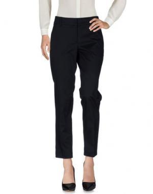 Повседневные брюки GUNEX. Цвет: черный