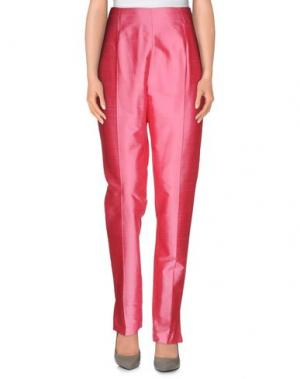 Повседневные брюки TARA JARMON. Цвет: розовый