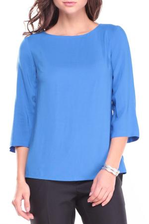 Блуза MAURINI. Цвет: нежно-синий